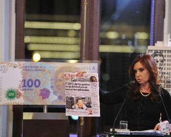 Presidente Cristina Fernández Wilhelm