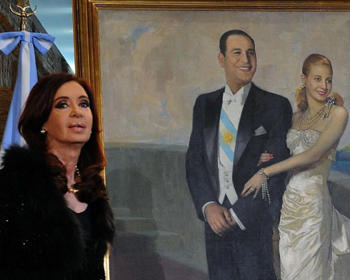 Cristina Kirchner, Perón y Evita