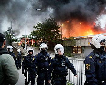 Suecia en llamas