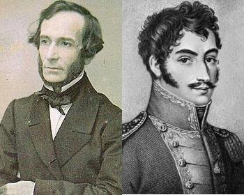 Alberdi y Bolívar