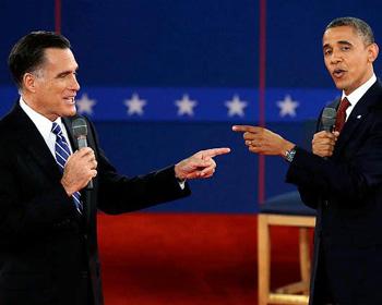Debate: Mitt Romney y Barack Obama