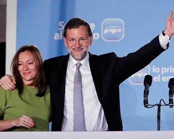 Mariano Rajoy, electo Presidente del Gobierno español - Partido Popular