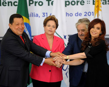 Presidentes del Mercosur