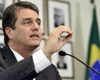Roberto Azevedo, Director General de la OMC
