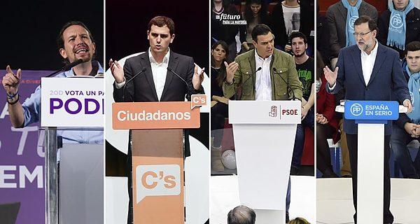 España, candidatos