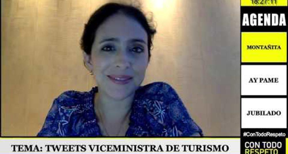 Gabriela Calderón discute el asesinato de turistas y la probable reelección de Rafael Correa