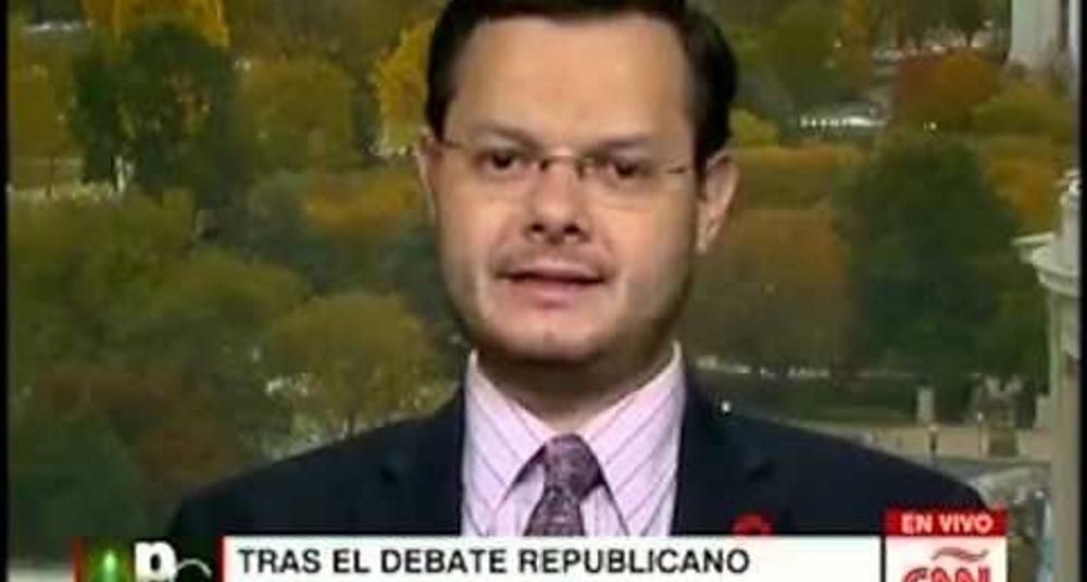 Juan Carlos Hidalgo comenta el tercer debate republicano en CNN en Español