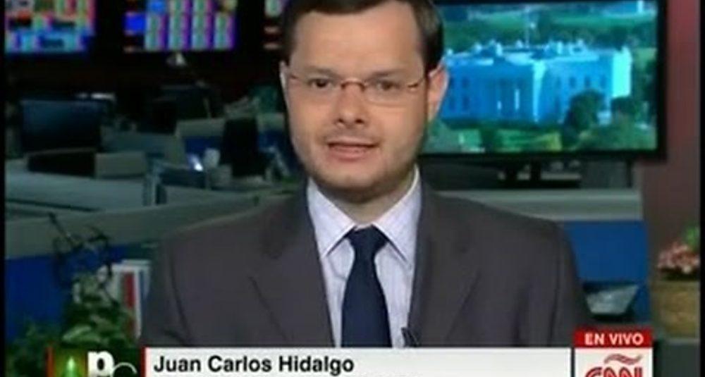 """Juan Carlos Hidalgo discute el TPP en """"Portafolio Global"""" de CNN en Español"""
