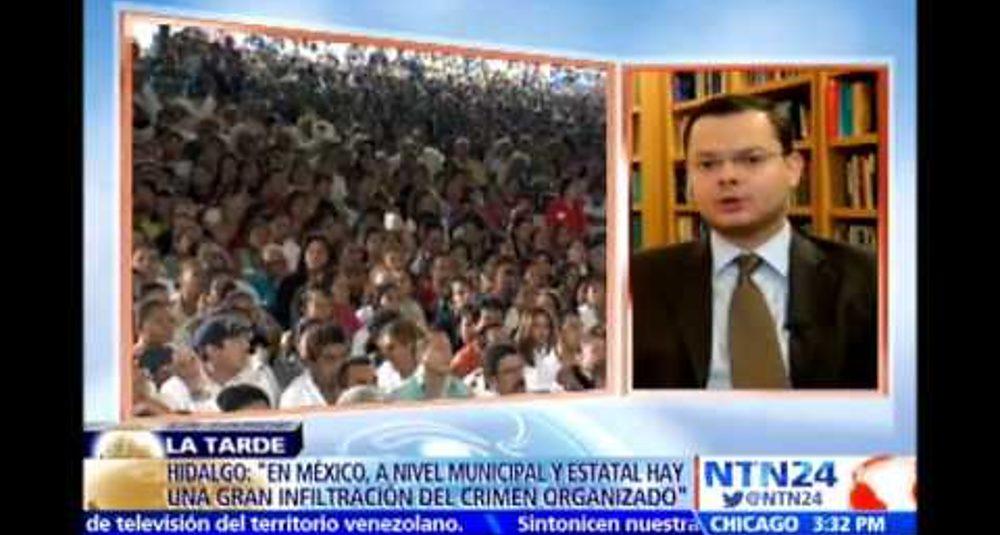 """Juan Carlos Hidalgo comenta las protestas en México en """"La Tarde"""" de NTN24"""