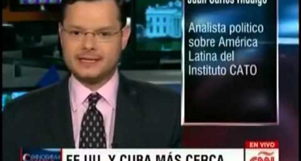 Juan Carlos Hidalgo comenta retiro de Cuba de lista de patrocinadores del terrorismo