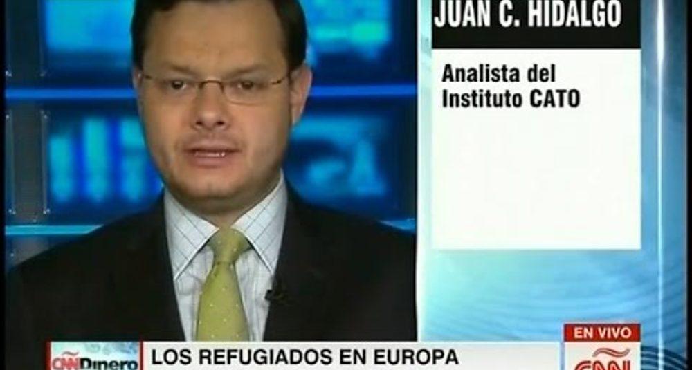 Juan Carlos Hidalgo comenta la ley sobre refugiados de Dinamarca en CNN Dinero