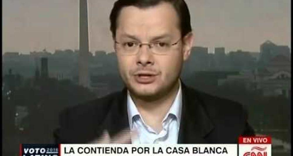 """Juan Carlos Hidalgo comenta la carrera republicana en """"Portafolio Global"""" de CNN en Español"""