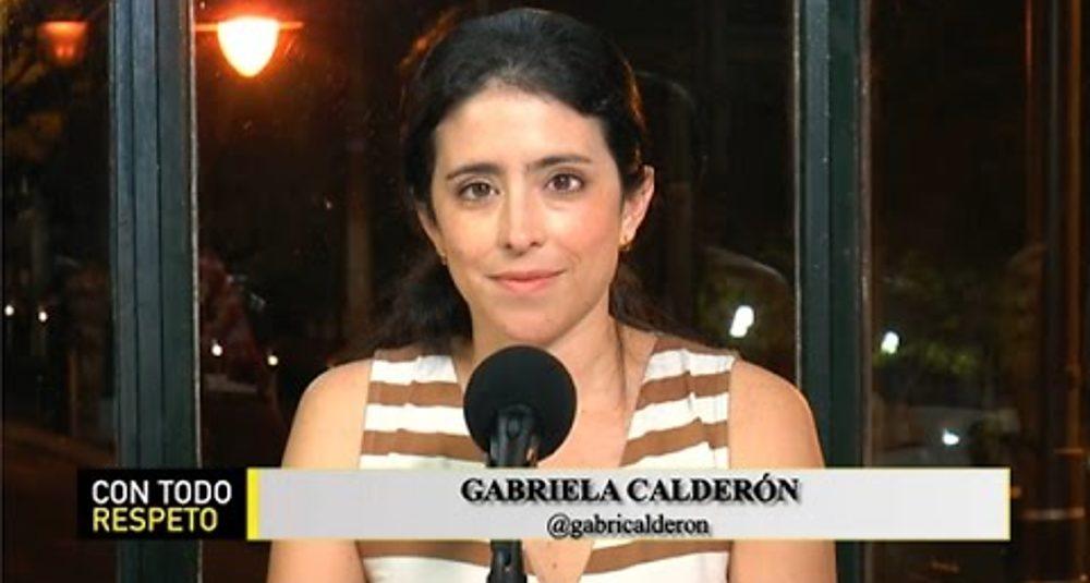 Gabriela Calderón comenta la situación de la economía ecuatoriana