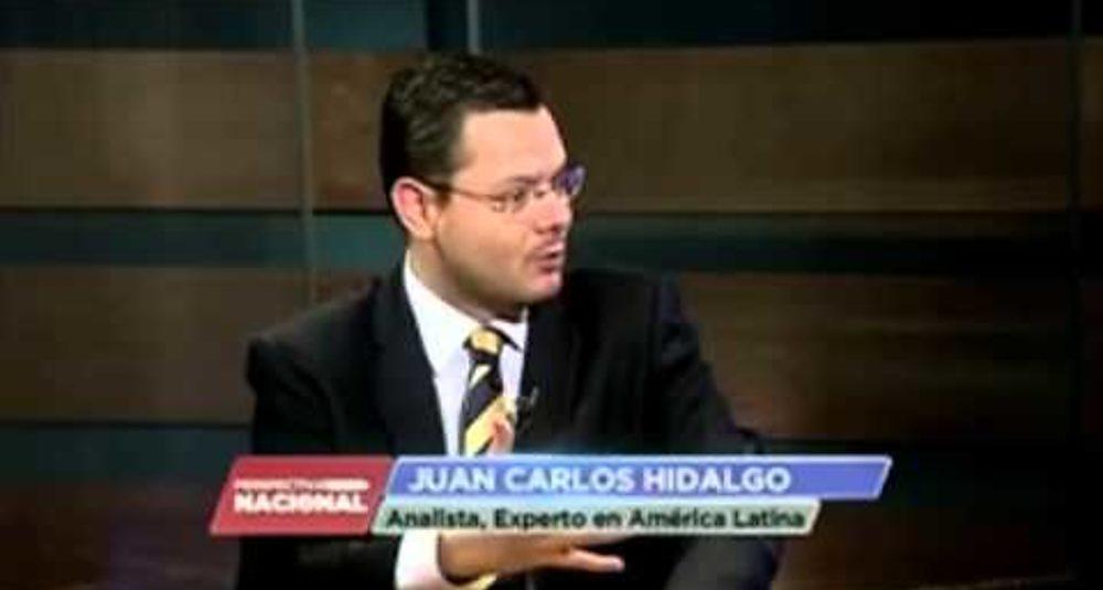 """Juan Carlos Hidalgo habla sobre integración latinoamericana en """"Perspectiva Nacional"""" de Univisión"""