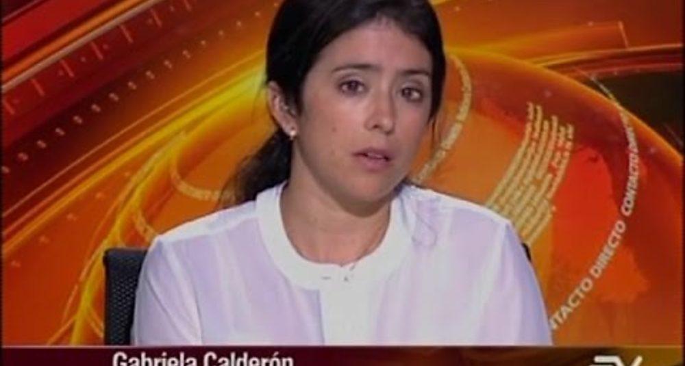 Gabriela Calderon discute medidas de ajuste para Ecuador frente a la caída del precio del petróleo