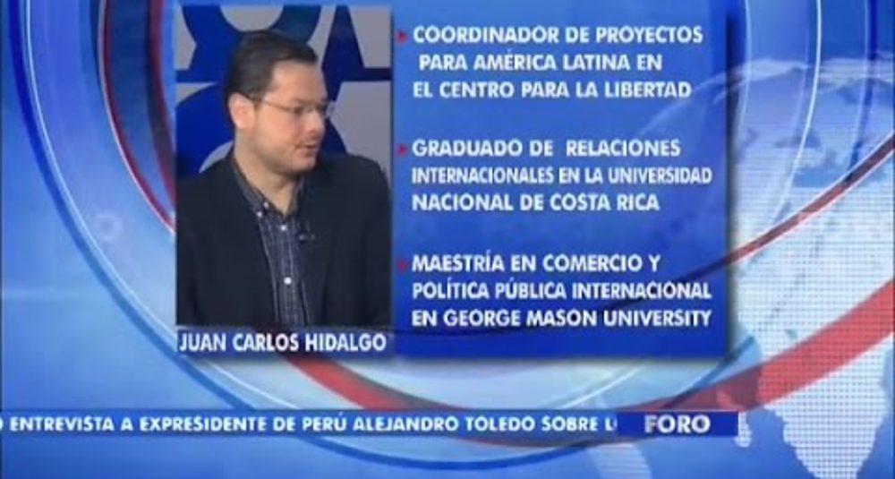 Juan Carlos Hidalgo comenta el acercamiento de EE.UU. con Cuba en Foro Interamericano de VOA