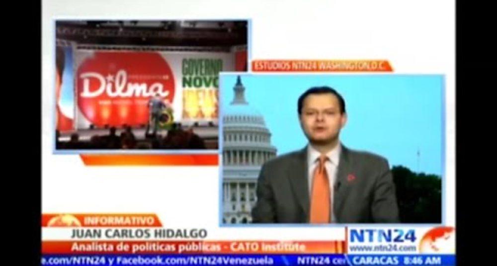 """Juan Carlos Hidalgo comenta las elecciones de Brasil y Uruguay en el """"Informativo"""" de NTN24"""