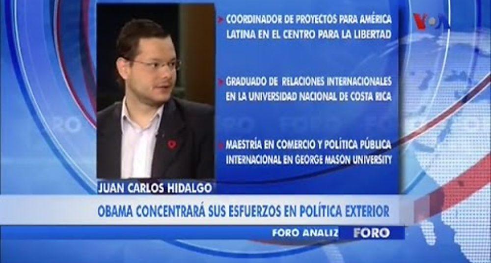 """Juan Carlos Hidalgo comenta las elecciones de medio período en """"Foro"""" de la Voz de América"""