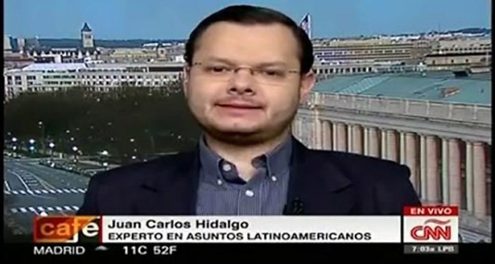 Juan Carlos Hidalgo comenta las sanciones de EEUU a Venezuela en Café CNN