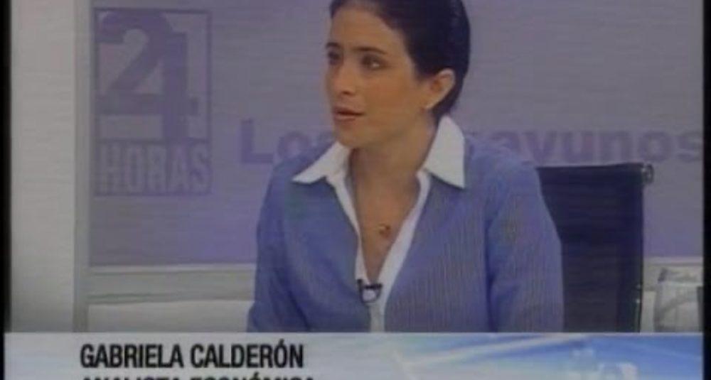 Gabriela Calderón discute la seguridad social y las salvaguardias del gobierno ecuatorian