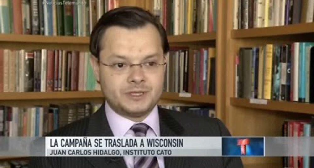 Juan Carlos Hidalgo comenta las ideas de política exterior de Trump en Telemundo