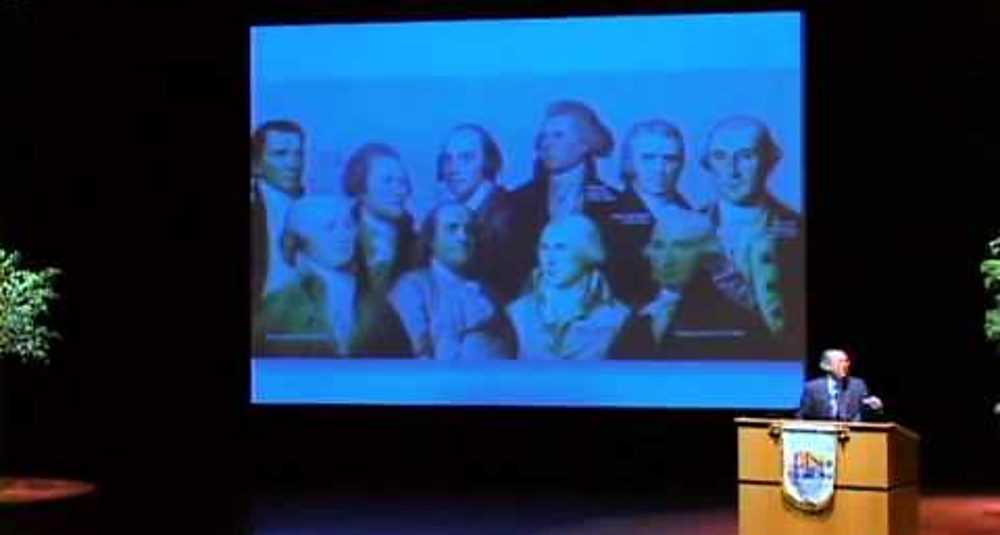Lección inaugural 2010 Los padres fundadores de Estados Unidos y lecciones para América Latina