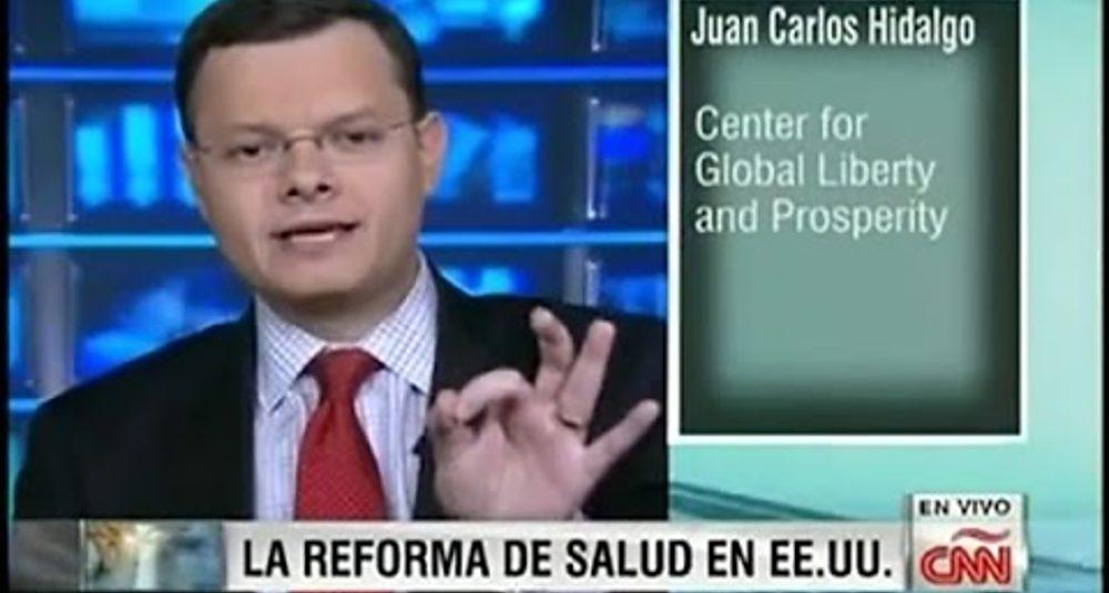 Juan Carlos Hidalgo comenta la controversia sobre Obamacare en CNN Dinero
