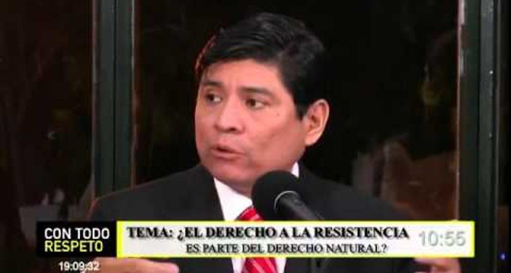 Gabriela Calderon comenta el derecho a la resistencia y el microtrafico de drogas en Ecuador
