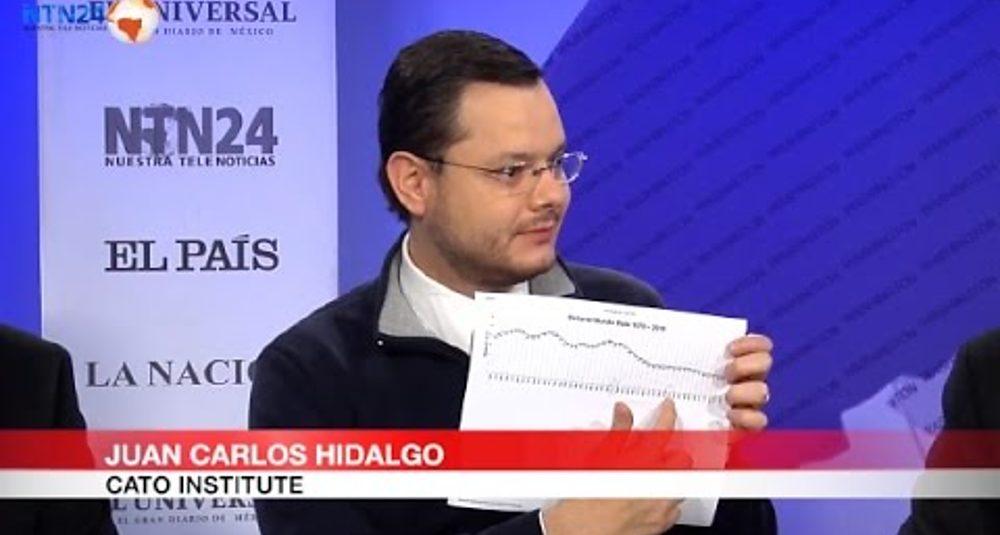 """Juan Carlos Hidalgo debate el control de armas en """"Club de Prensa"""" de NTN24"""