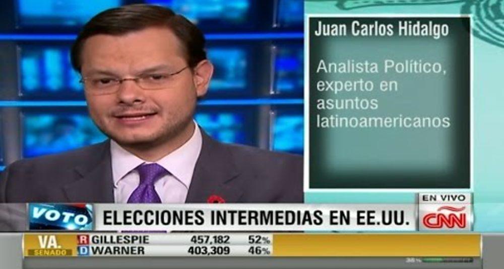 Juan Carlos Hidalgo comenta las elecciones de medio período en CNN Dinero