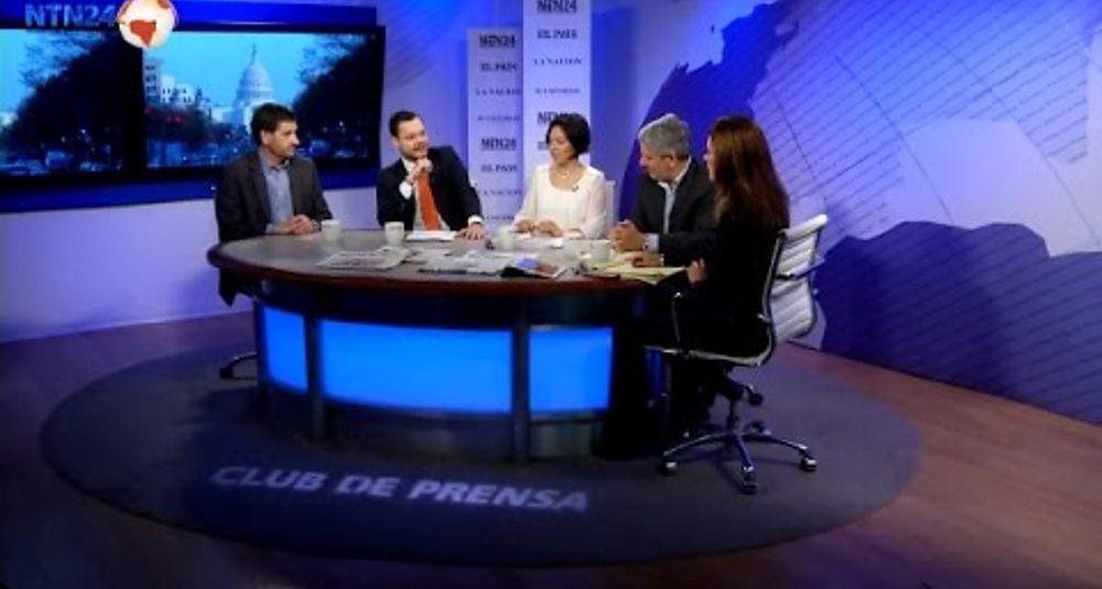 Juan Carlos Hidalgo comenta la crisis política de Perú en Club de Prensa de NTN24