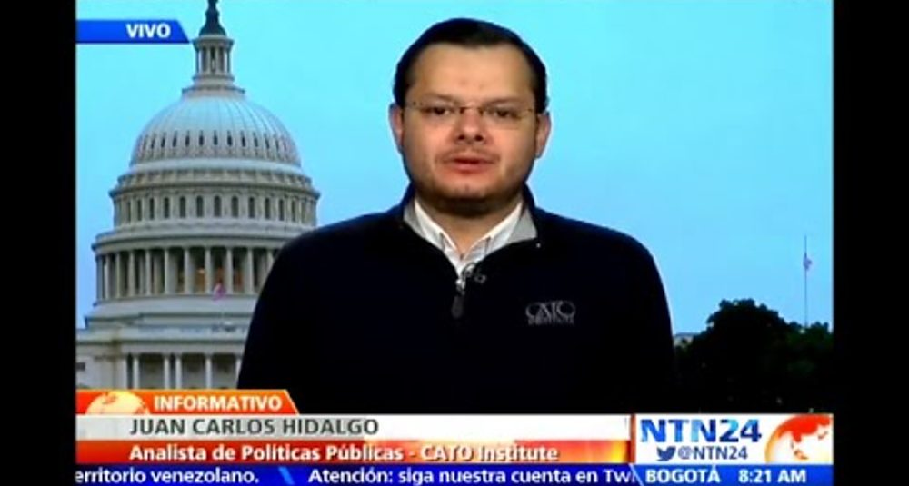 Juan Carlos Hidalgo comenta el arresto del alcalde de Caracas en el Informativo de NTN24