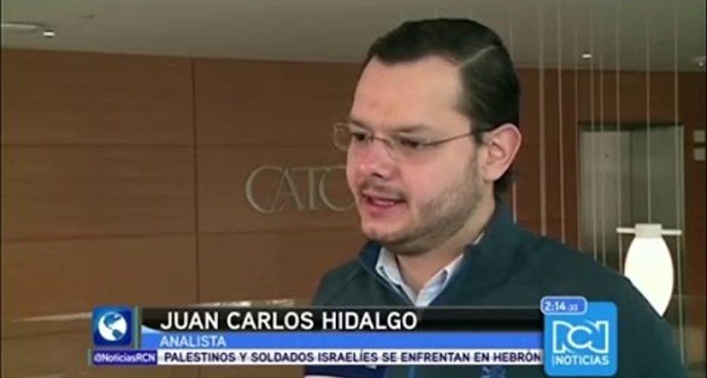 Juan Carlos Hidalgo discurses U.S-Cuban negociación en RCN TV