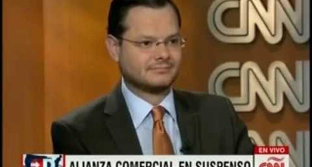 Juan Carlos Hidalgo comenta el Acuerdo Estratégico Trans-Pacífico en Directo USA de CNN en Español