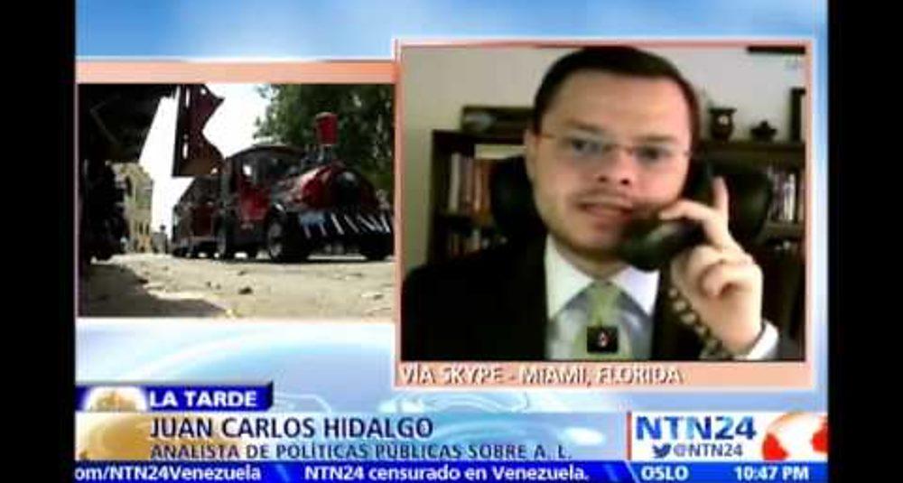 """Juan Carlos Hidalgo comenta el reestablecimiento de relaciones con Cuba en """"La Tarde"""" de NTN24"""
