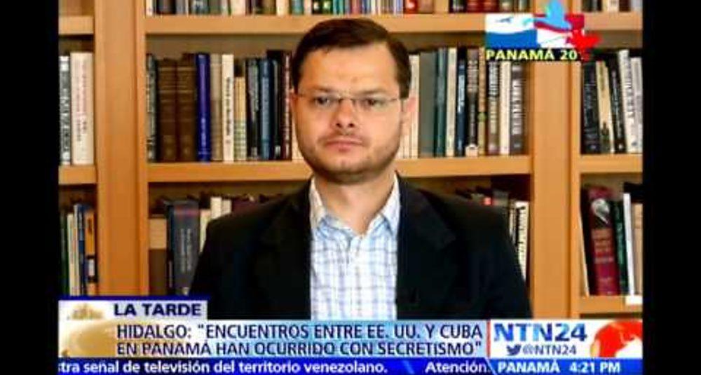 """Juan Carlos Hidalgo comenta la Cumbre de las Américas en """"La Tarde"""" de NTN24"""