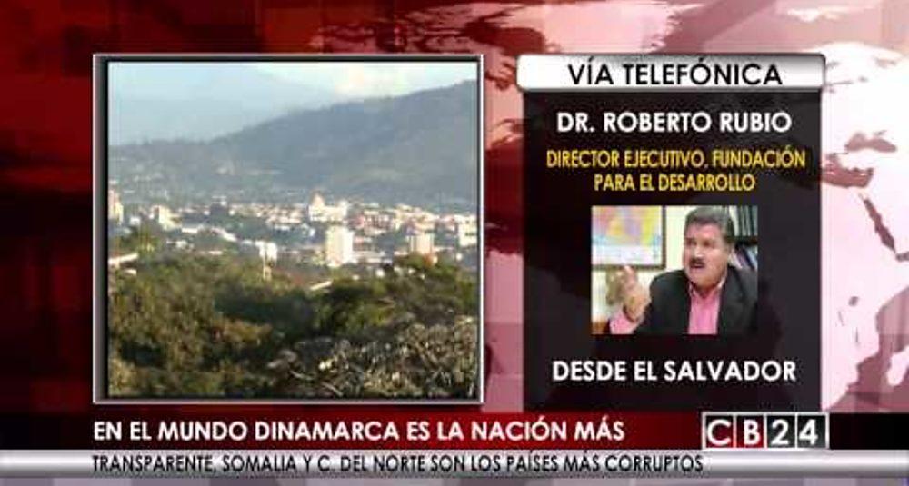 """Juan Carlos Hidalgo analiza la corrupción en Centroamérica en """"Al Cierre"""" de CB24"""
