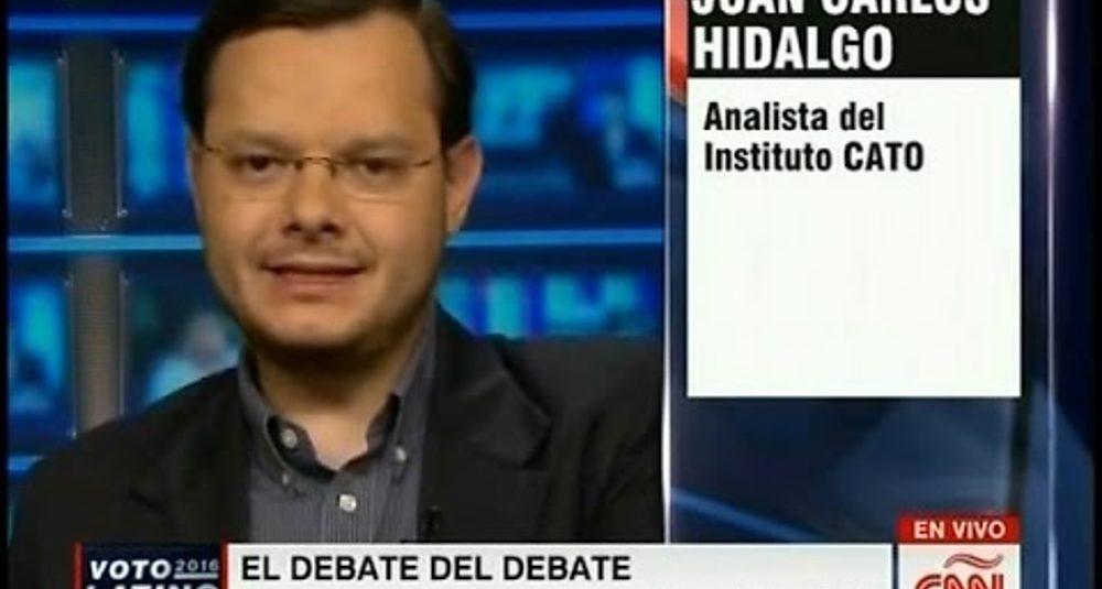 Juan Carlos Hidalgo comenta la carrera presidencial republicana en Conclusiones de CNN en Español