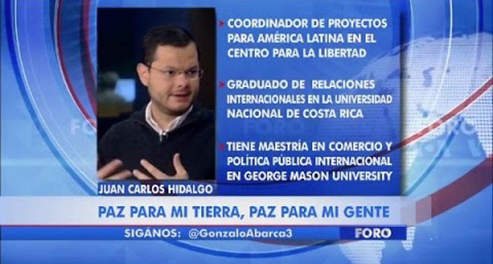 Juan Carlos Hidalgo comenta la Asamblea General de la ONU en La Voz de América