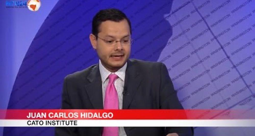 """Juan Carlos Hidalgo comenta la elección de Canadá en """"Club de Prensa"""" de NTN24"""